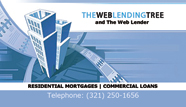 The Web Lender Business Card Back